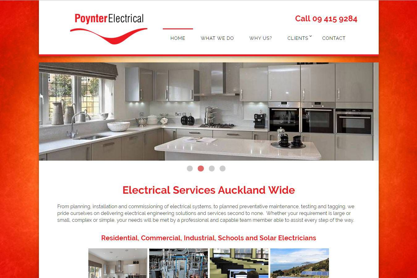 Poynter Electrical Website